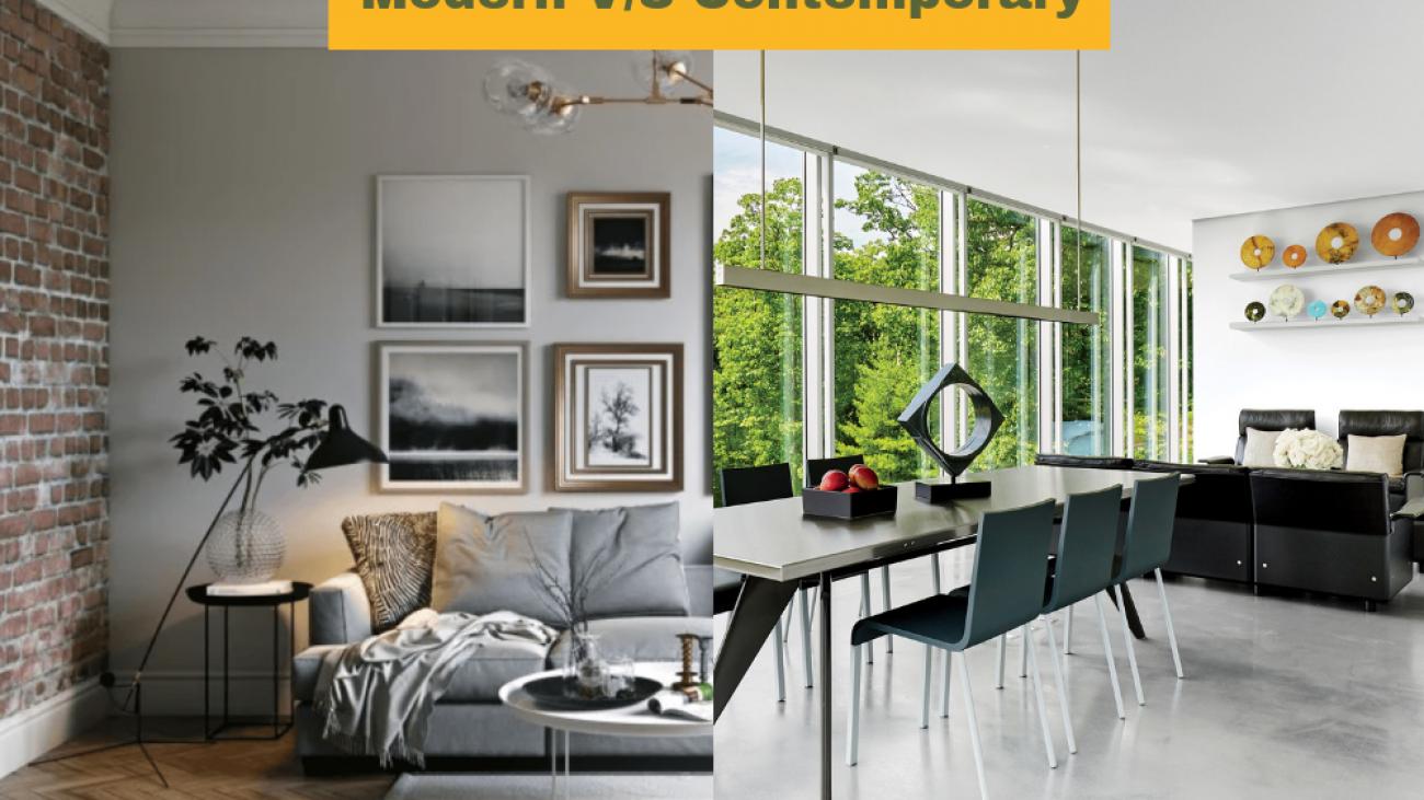 Modern and Contemporary Interior Design
