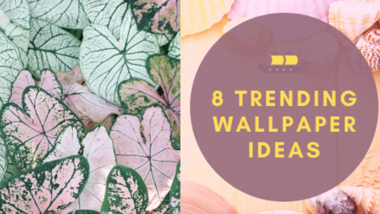 wallpaper ideas for interior designing