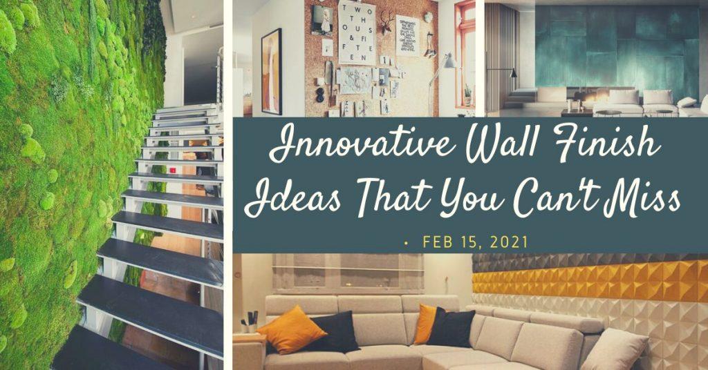 modern wall finish ideas