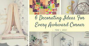 decorating nooks & corners
